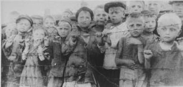 Approximately 164,000 Polish Jews are concentrated and imprisoned in the Lódz ghetto which is established and sealed off from the outside world.