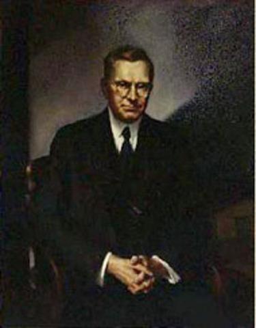 William N. Doak succeeds James J. Davis.