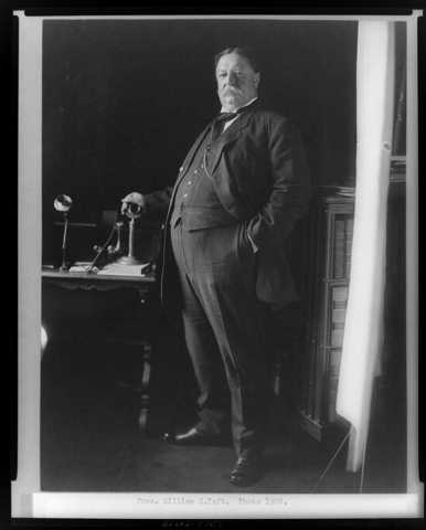 President Taft Creates Labor Department