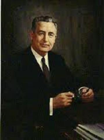 Eisenhower appoints Martin P. Durkin
