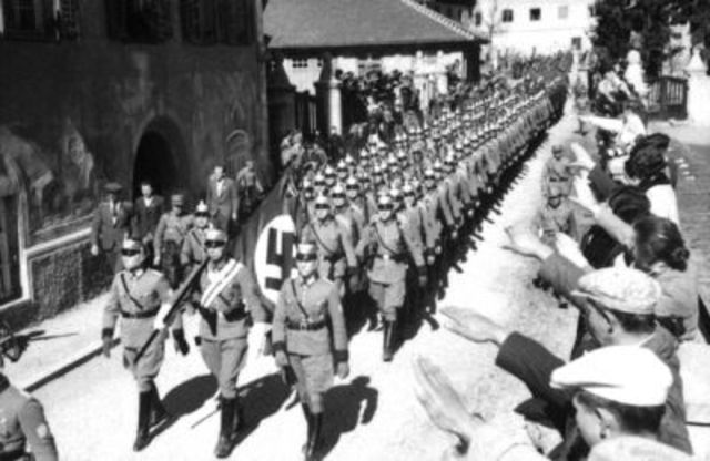 Austria Becomes Part of the Third Reich