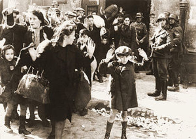 The first Polish ghetto is established