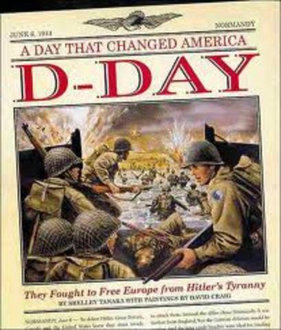 The Dday invasion