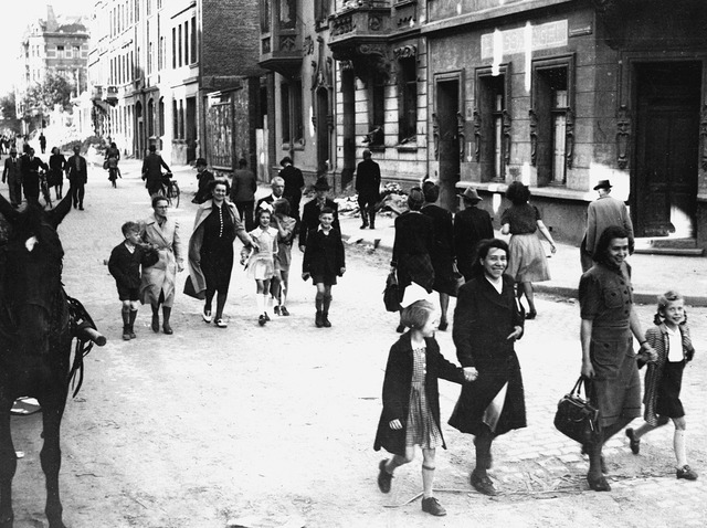 Decrees ban Jews from public streets on certain days; Jews are forbidden drivers' licenses and car registrations.