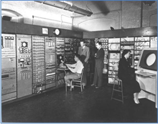 Computadora Whirlwind en el MIT