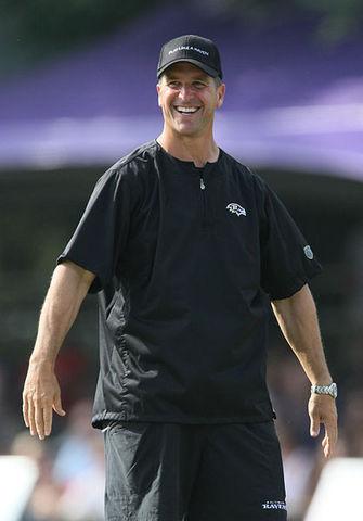 Introducing new coach, John Harbaugh