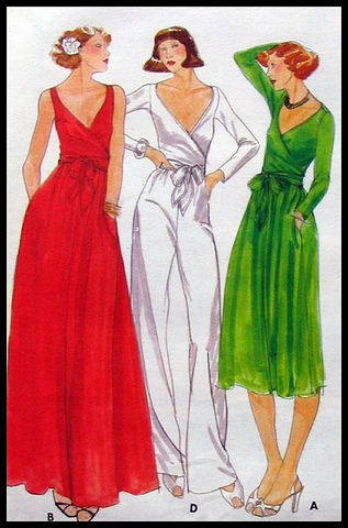 1970's fashion.