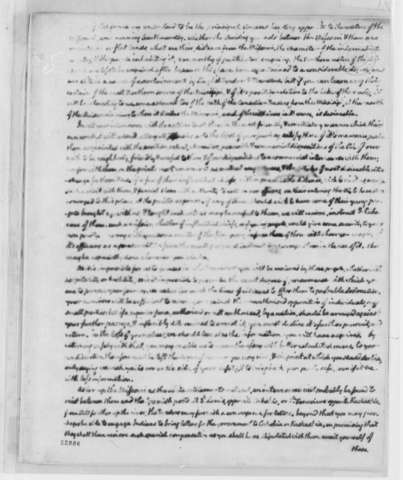 A letter from Tomas Jefferson to Meriwether Lewis