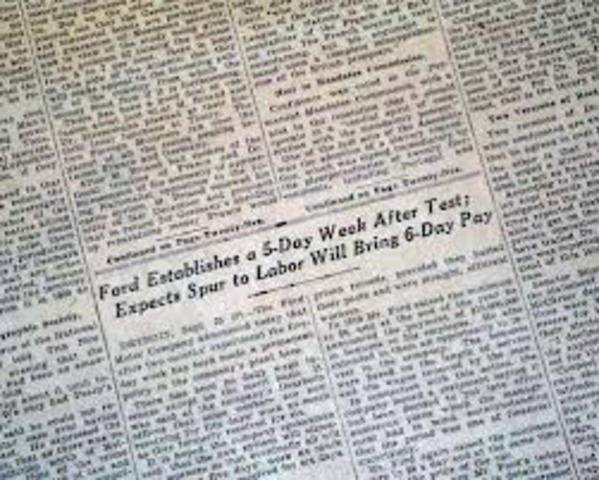 Father of the Five-Day Workweek
