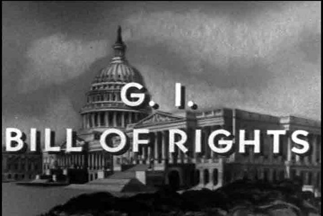 G.I. Bill of Rights signed into law.