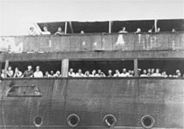 Cuba and the United States refuse to accept Jewish refugees aboard the ship S.S. St. Louis, which is forced to return to Europe.