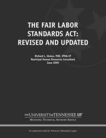 Fair Labor Standards Act Codifies 40-Hour Workweek