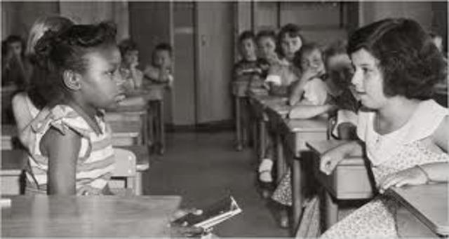 Brown Versus Board of Education of Topeka Kansas