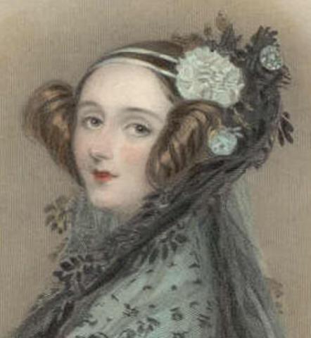 Ada Lovelace born