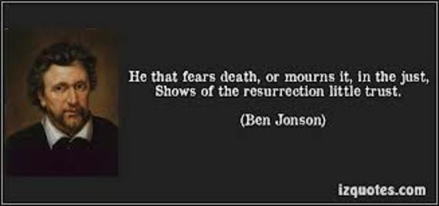 Ben Jonson's Death