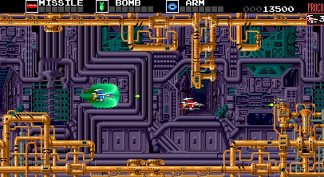Darius - Three Game Screens