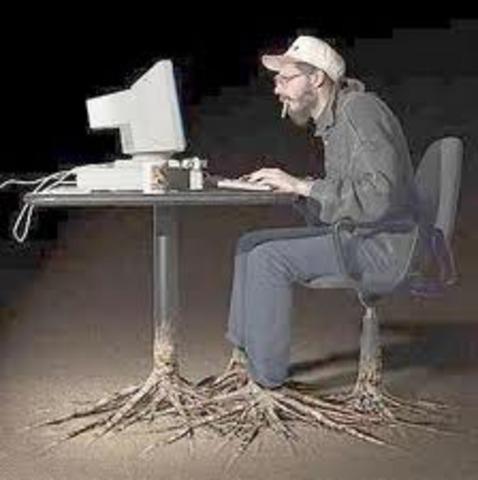 descubrimiento del internet