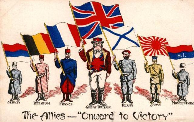 Triple Entente ( the allies )