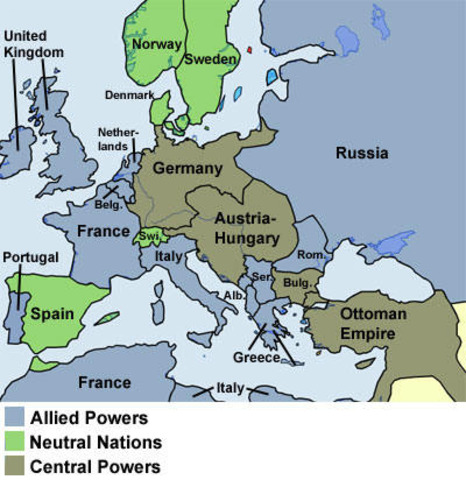 Central Power ( Axis power)