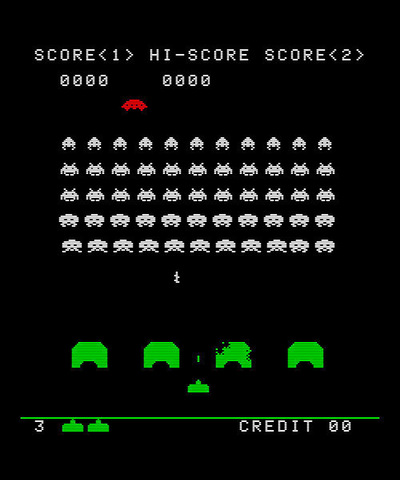 Space Invaders - Multiple
