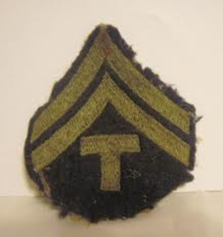 Promoted To Third Corporal