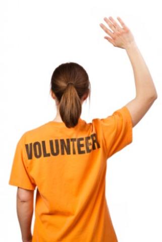 Volunteer work.