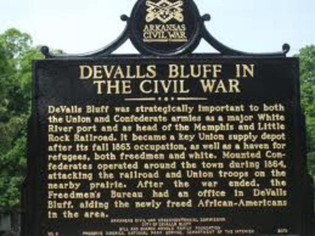 Heads To Devals Bluffs