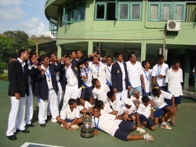 Won the all island Tennis Tournament