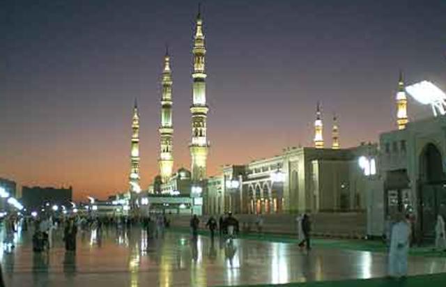 Bulding of the Masjid in Medina