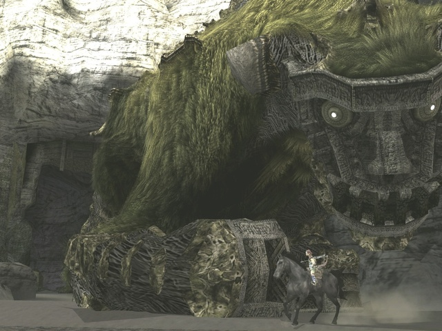 Shadow of the Colossus - Boss Centric Gameplay