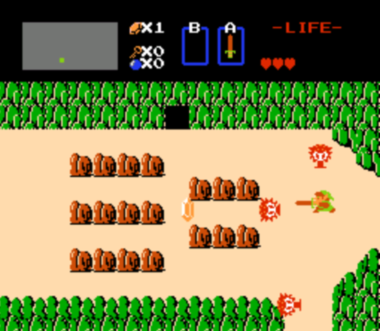 The Legend of Zelda - Save Backed-up by Battery