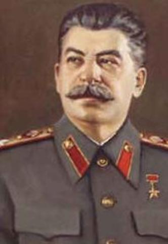 Joseph Stalin made General Secretary by Soviet Union