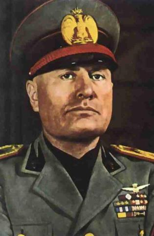 Benito Mussolini Becomes The New Priminister Of Italy