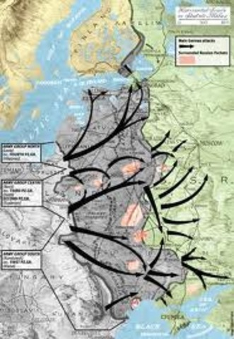 Germany Attack the Soviet Union (Operation Babarossa)