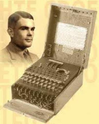 Alan Turing describe la máquina de Turing
