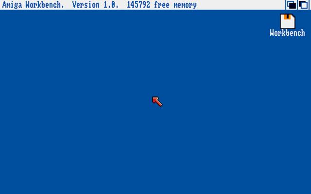 Amiga Workbench 1.01