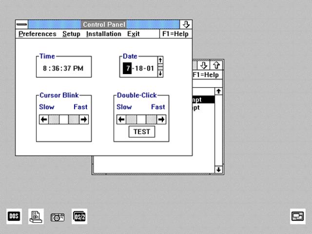IBM OS 2 1.1