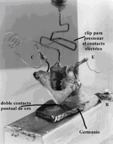 inventan el transistor.