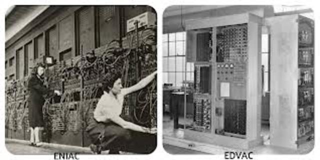 comienza a operar la EDVAC