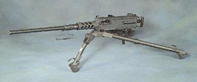 Machine Gun- Invented by Helge Palmcrantz
