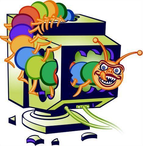 Virus Gusano en la red