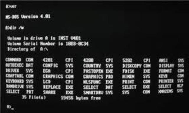 primer sistema operativo, llamado SunOS.