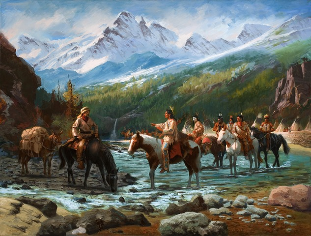 Confrontation with Native Americans