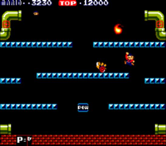 1983 Mario Brothers