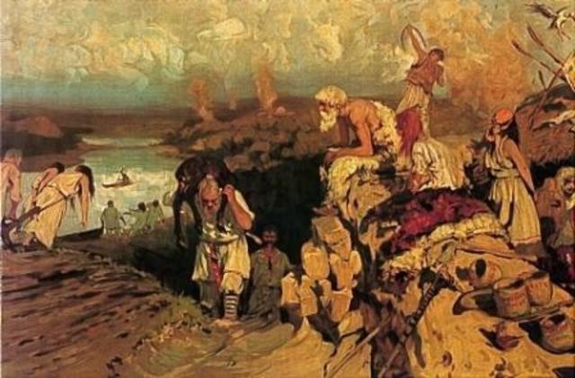 Slavs Settle North European Plain