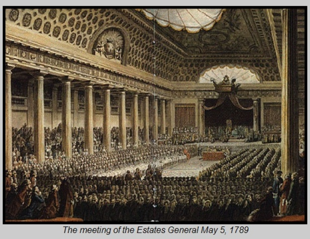 Estates-General meets for the first time since 1614