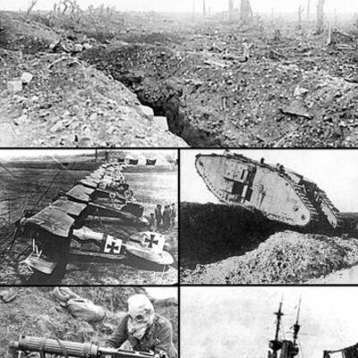 I Maailmasõda timeline