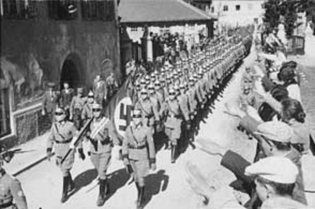 Germany Again Violate The Treaty