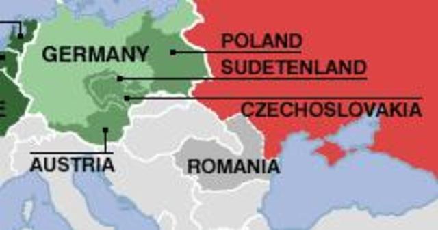 Germany occupy Czechoslovakia