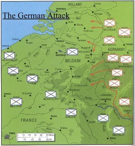 Dunkirk - The Land Battle for France